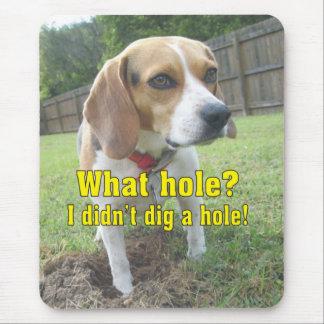 Tapis De Souris Quel trou ? Beagle