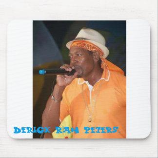 Tapis De Souris Rah peters. de Derrick d'icône de musique