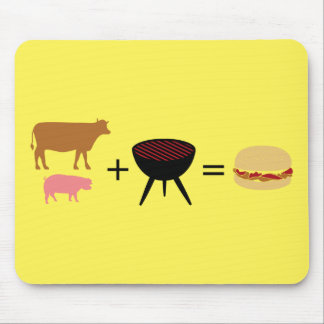 Tapis De Souris Recette d'hamburger de lard