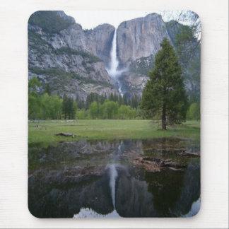 Tapis De Souris réflexion de Yosemite Falls