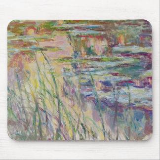 Tapis De Souris Réflexions de Claude Monet   sur l'eau, 1917