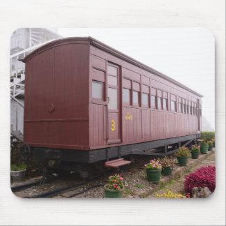 Tapis De Souris Restaurant de chariot de train
