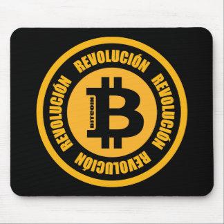 Tapis De Souris Révolution de Bitcoin (version espagnole)