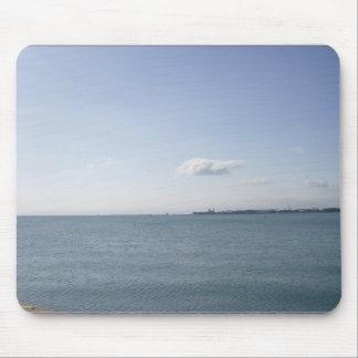 Tapis De Souris Rivages du lac Michigan chez Chicago