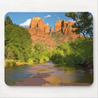 Tapis De Souris Rivière au croisement rouge de roche, Arizona