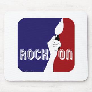 Tapis De Souris Roche sur le logo sportif de musique