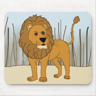 Tapis De Souris Roi de la bête - lion