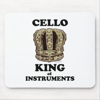 Tapis De Souris Roi de violoncelle des instruments