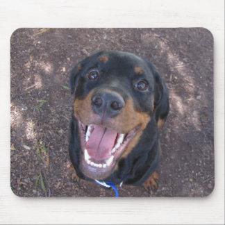 Tapis De Souris Rottweiler heureux Mousepad de Heidi