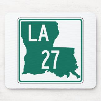 Tapis De Souris Route 27 de la Louisiane