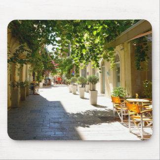 Tapis De Souris Rue de la Grèce, Corfou, Mousepad