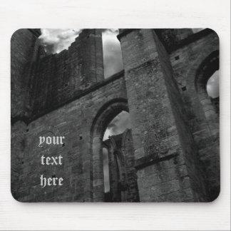 Tapis De Souris Ruines antiques de cathédrale