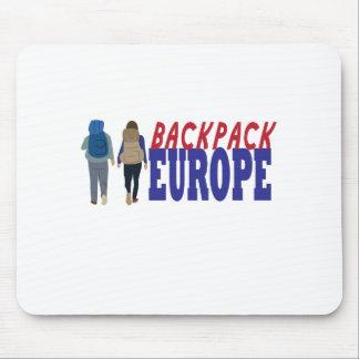 Tapis De Souris Sac à dos l'Europe