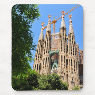 Tapis De Souris Sagrada Familia à Barcelone, Espagne