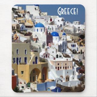 Tapis De Souris Santorini, Grèce