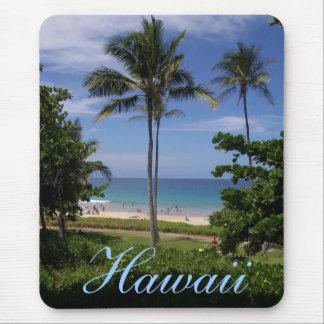 Tapis De Souris Scène de plage d'Hawaï