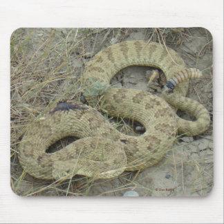 Tapis De Souris Serpent à sonnettes de prairie R0020