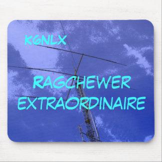 Tapis De Souris Signe amateur Ragchew Mousepad d'appel radio