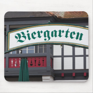 Tapis De Souris Signe de Biergarten, Allemagne