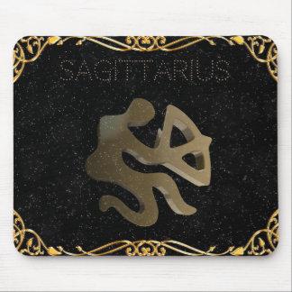 Tapis De Souris Signe d'or de Sagittaire