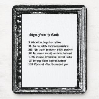Tapis De Souris Signes de la terre