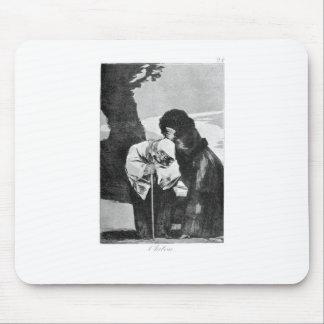 Tapis De Souris Silence par Francisco Goya