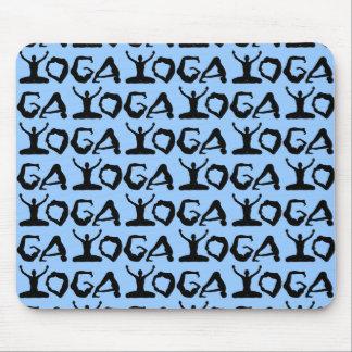 Tapis De Souris Silhouettes de yoga