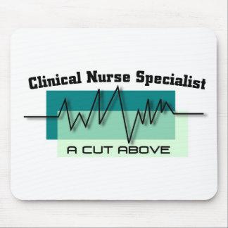 Tapis De Souris Spécialiste clinique CNS RN médical en infirmière