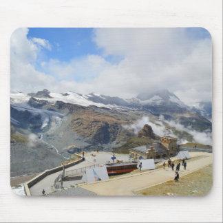 Tapis De Souris Station de Gornergrat en Suisse