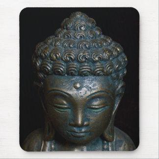 Tapis De Souris Statue foncée de Bouddha