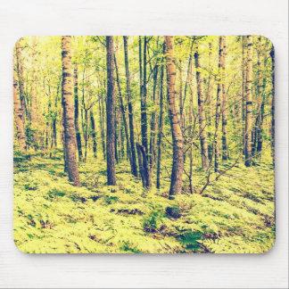 Tapis De Souris Style du nord de cru de régions boisées