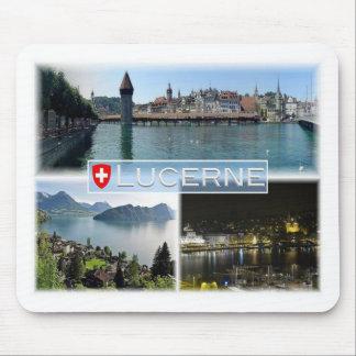 Tapis De Souris Suisse de ch - Suisse - luzerne - Lucerne -