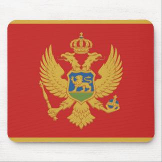 Tapis De Souris Symbole de nation de drapeau de pays de Monténégro