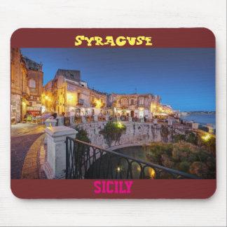 "Tapis de souris ""Syracuse, Sicile"""
