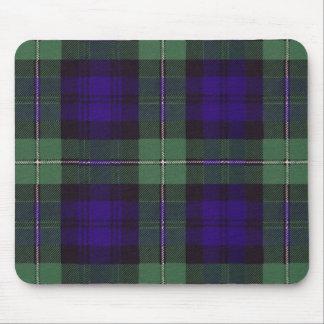 Tapis De Souris Tartan d'écossais de plaid de clan de Forbes