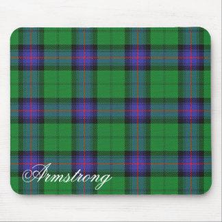 Tapis De Souris Tartan écossais majestueux d'Armstrong de clan