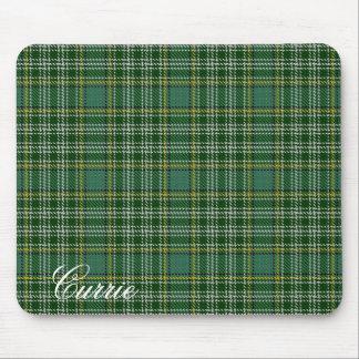 Tapis De Souris Tartan écossais majestueux de Currie de clan