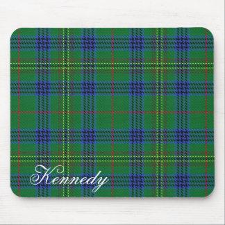 Tapis De Souris Tartan écossais majestueux de Kennedy de clan