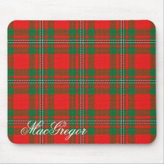 Tapis De Souris Tartan écossais majestueux de MacGregor Gregor de