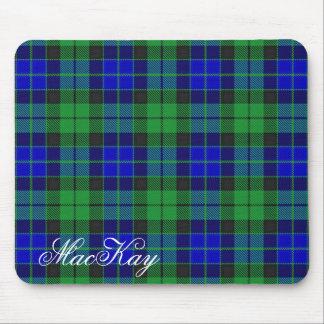 Tapis De Souris Tartan écossais majestueux de MacKay de clan