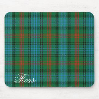 Tapis De Souris Tartan écossais majestueux de Ross de clan