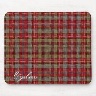 Tapis De Souris Tartan écossais majestueux d'Ogilvie Ogilvy de