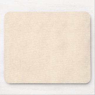 Tapis De Souris Temp de papier antique beige de parchemin neutre