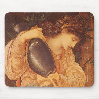 Tapis De Souris Temperantia par Burne Jones, art victorien vintage