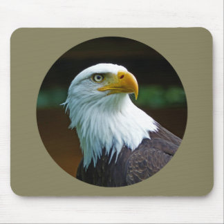 Tapis De Souris Tête 001 d'Eagle chauve 02,2 rd