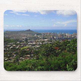 Tapis De Souris Tête et Waikiki de diamant