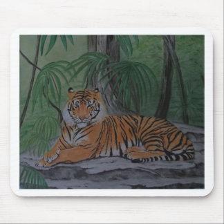 Tapis De Souris Tigre au repos