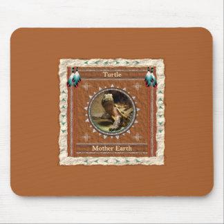 Tapis De Souris Tortue - Terre Mousepad