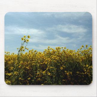 Tapis De Souris Tournesols de fleurs sauvages