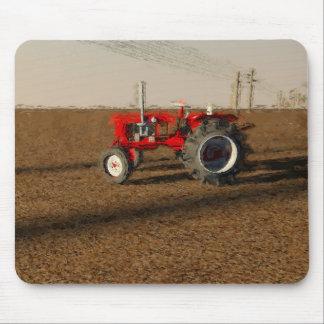 Tapis De Souris Tracteur et terres de culture